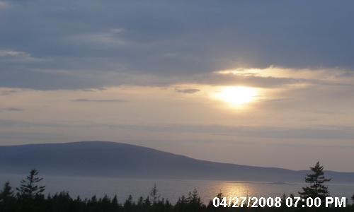 live webcam from Southwest Harbor, Acadia National Park