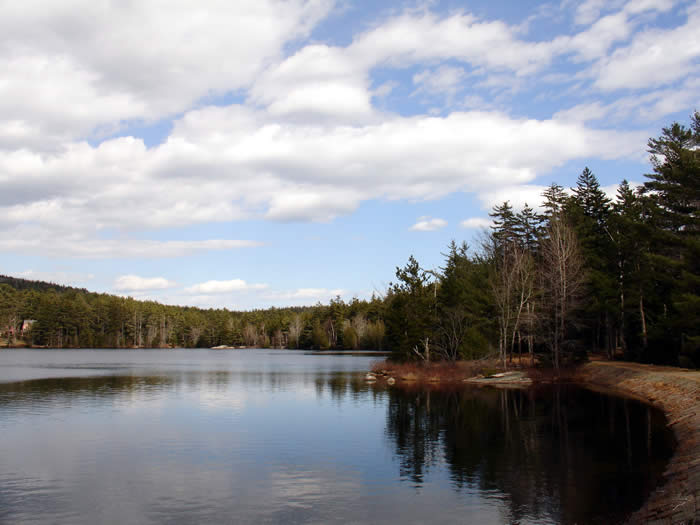 Hadlock Pond, Acadia National Park Maine, minutes from Northeast Harbor and Bar Harbor