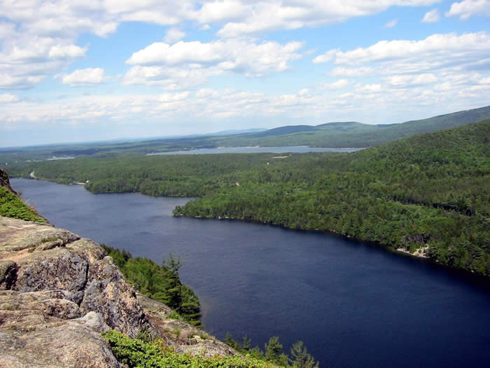 Somes Sound seen from Fying Mountain